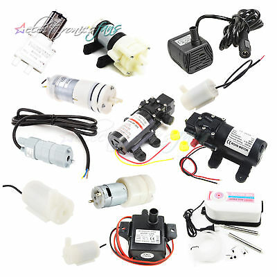 3V-12V DC Micro Submersible Motor Water Pump 3/5M 0.28L-240L Useful