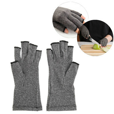 1 Pair Arthritis Gloves Compression Joint Finger Pain Relief Hand Wrist Support