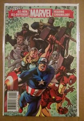 All-New All-Different Marvel Reading Chronology 2017 VF/NM 1