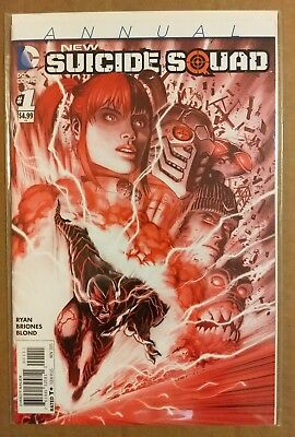 Dc Comics New 52 New Suicide Squad Annual #1 1St Printing Harley Quinn Nm 2015
