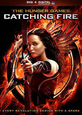 The Hunger Games: Catching Fire (DVD, 2014, Includes Digital Copy) New Sealed