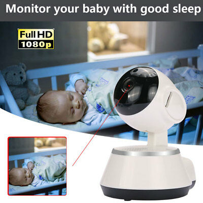Pan Tilt Wireless WIFI IP Camera Home Security Cam Baby Dog Monitor Night Vision