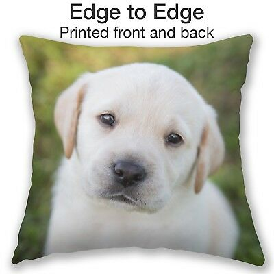 Personalised Pet Cushion Memorable Dog Cat Photo Pillow Tribute Luxury Gift