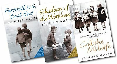 Jennifer Worth Collection - The Midwife Trilogy Series (3 Books Set)