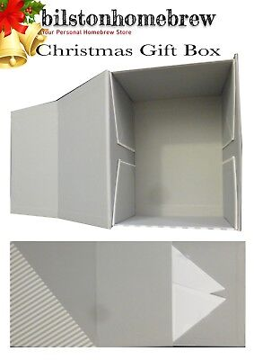 Top Quality Gift Box Flat Packed Grey Magnetic Closing Ideal For Christmas Gifts