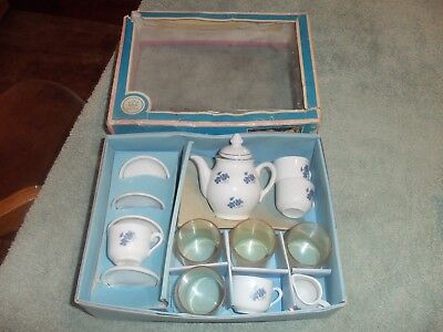 kahla 15pc china child's/toy tea set made in German Democratic Republic