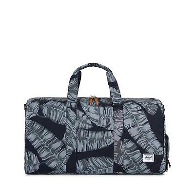 7c4730784782 HERSCHEL NOVEL MID Volume 34.5 Litre Duffle Carry Bag Black Palm