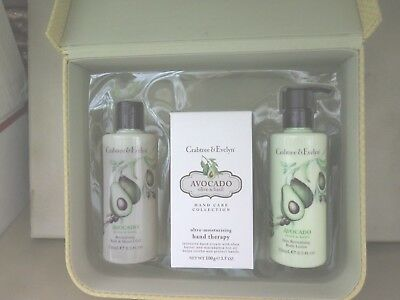 Crabtree & Evelyn Avocado Hand Therapy Shower Gel & Lotion Gift Set