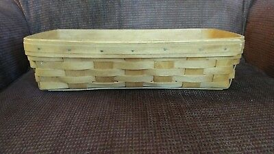 1995 Longaberger Bread Basket Used Good Condition just the basket (B11)