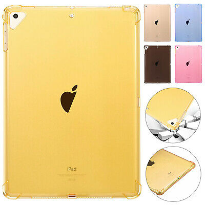 For iPad Pro 11 INCH 2018 5th 6th Gen Case Shockproof Silicone Transparent Cover