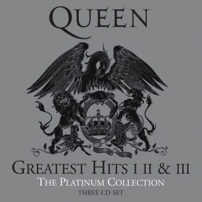 The Platinum Collection 2011 Remastered Queen Greatest Hits 1, 2 and 3 Audio CD