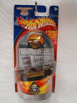 Hot Wheels Highway 35 World Race #33: SCORCHERS '99 DODGE CHARGER R/T