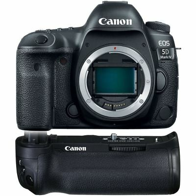 Canon EOS 5D Mark IV DSLR Camera USA Model (Body Only) - BG-E20 Grip