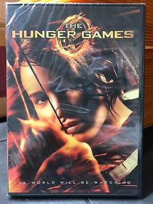The Hunger Games  DVD NEW SEALED