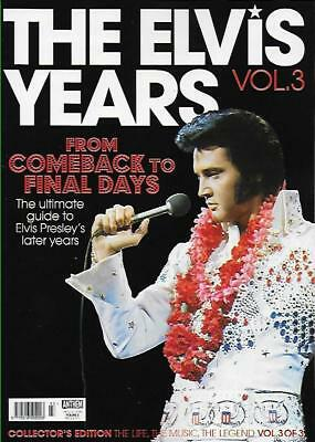 The Elvis Years Vol.3 - From Comeback To Final Days Collector's Edition Magazine