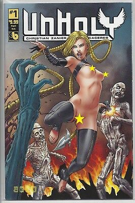 Unholy #1 Argent Slaying Variant Boundless Comics Very Hot!!