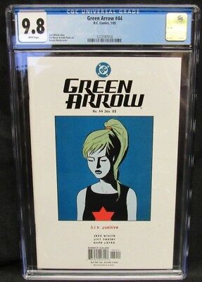 Green Arrow #44 (2005) CGC 9.8 White Pages CM911
