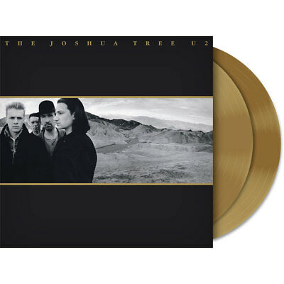 U2 - The Joshua Tree Gold Vinyl LP Limited Edition Sealed