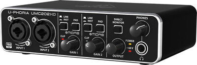 Behringer UMC202HD 2x2 USB Audio Interface