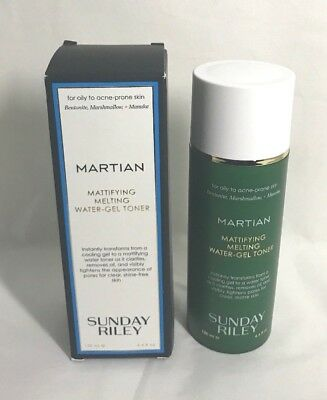 Martian Mattifying Melting Water-Gel Toner 4.4 fl.