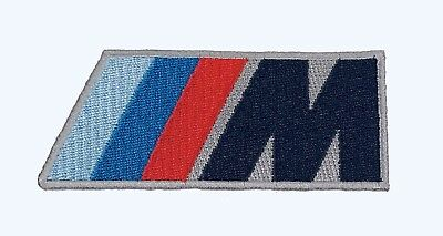 Bmw M Logo Racing M-Power Patch Made In Usa