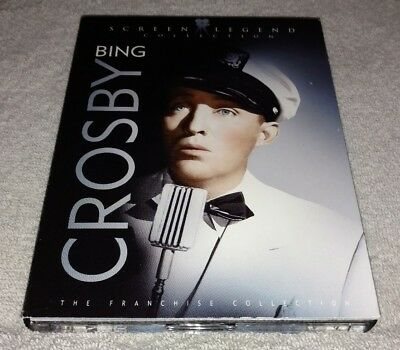 Bing Crosby The Franchise Collection Screen Legend - DVD - 3 Disc Set *RARE