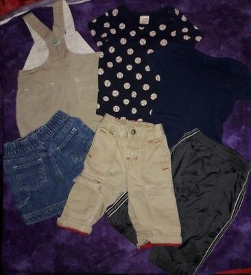 Baby boys Gymboree Carter's Old Navy lullaby mixed clothing lot size 3 M 6 M 3-6