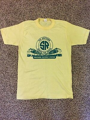 Southern Railway System vintage t-shirt, engine locomotive