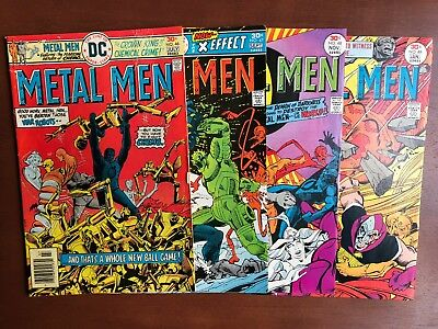 Metal Men #46 47 48 49 (1976) DC Key Issue Comic Book Lot Bronze Age High Grade