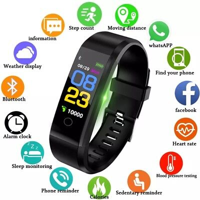 BANGWEI New Smart Watch Men Women Heart Rate Monitor Blood Pressure Fitness