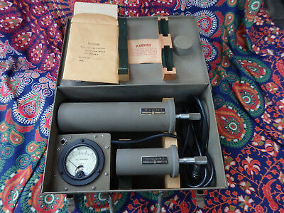 Vintage World War II Navy Wavemeter Test Set Model AN/UPM-2