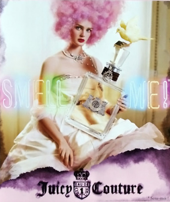 "Juicy Couture Fragrance Advertising Poster 22"" x 28"""