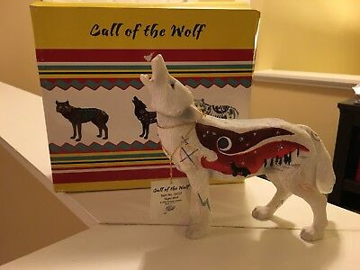 """Westland Giftware Call of the Wolf Collectible """"Night Wolf"""""""