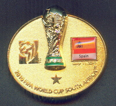 China Expo 2010 Shanghai  Pin - Spain FIFA World Cup South Africa