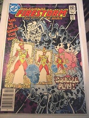 The Fury of Firestorm #18 Canadian newsstand price variant 1984 FN