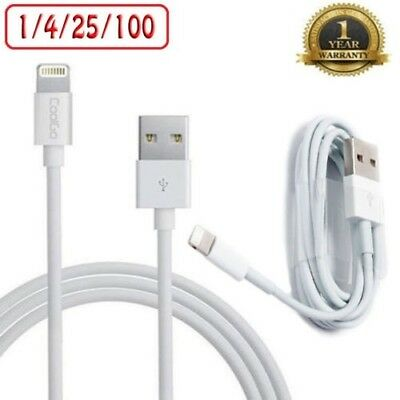 For iPhone 5s SE 6 6S 6 Plus 7 8 X XR XS iPad iPod USB Charge Cable Lightning 1M