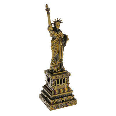 15cm The Statue of Liberty Model Figurines Metal Craft Merry Christmas Gifts