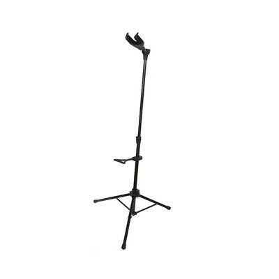 New Protable Black Single Gravity Bass/Guitar Stand