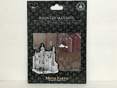 Walt Disney World Exclusive The Haunted Mansion Metal Earth 3-D Model Kit New