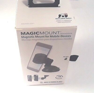Scosche MAGWSM-XTSP1 - MagicMOUNT Magnetic Dash/Window Mount for Mobile Devices