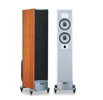 Polk RTi8 floor standing speakers (cherry wood) one pair