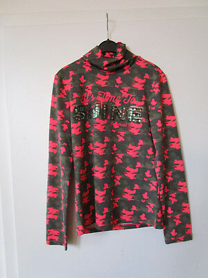 Rollkragen Funktions Turtle neck shirt Spotted Imperial Riding Army Pink Gr. S