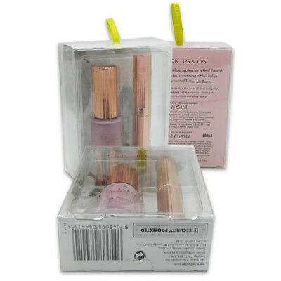 Ted Baker Delicate Lips and Tips 2 Piece Gift Set With Lip Balm And Nail Polish