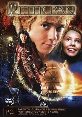Peter Pan (DVD, 2004) REGION-4-NEW AND SEALED- FREE POST WITHIN AUSTRALIA