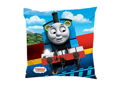 THOMAS THE TANK ENGINE KIDS CUSHION COVER 16 X 16 (40 x 40cm)