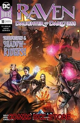Raven Daughter Of Darkness #10 (Of 12) (2018) 1St Printing Dc Comics