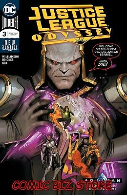 Justice League Odyssey #3 (2018) 1St Printing Briones Main Cover Dc Universe