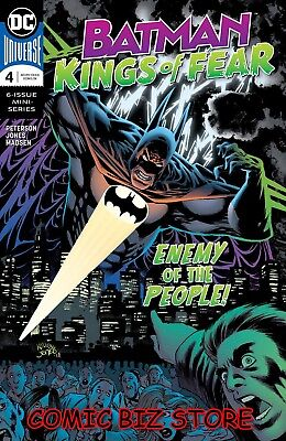Batman Kings Of Fear #4 (Of 6) (2018) 1St Printing Bagged & Boarded Dc Universe