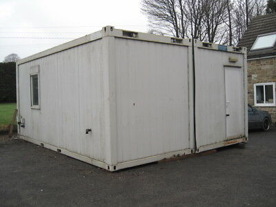 TF Jackson's Portable Building - Pre-used 2 Bay Building 20' x 16'