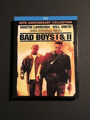 Bad Boys / Bad Boys II 20th Anniversary Collection Blu-Ray